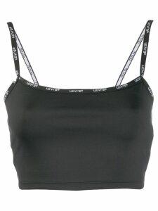 Levi's cropped vest top - Black