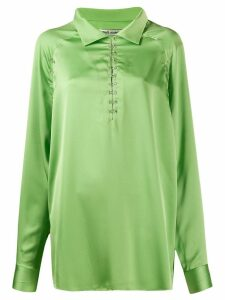 Jourden satin blouse - Green