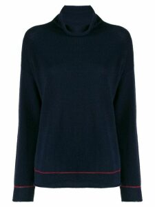 Piazza Sempione roll neck jumper - Blue