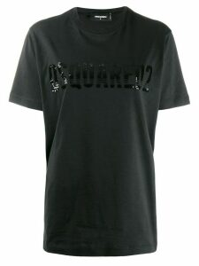 Dsquared2 logo print T-shirt - Black