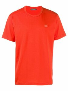 Acne Studios Nash Face T-shirt - ORANGE