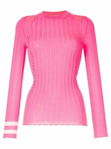 Maggie Marilyn Hole Lot Of Loving knitted top - PINK