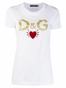 Dolce & Gabbana logo T-shirt - White