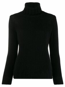 Incentive! Cashmere turtleneck jumper - Black