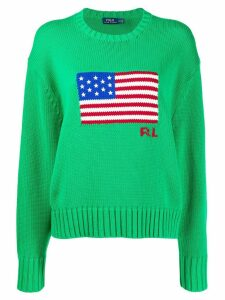 Polo Ralph Lauren American Flag jumper - Green