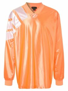 We11done oversized jersey top - ORANGE