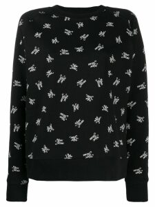 Marc Jacobs printed sweatshirt - Black