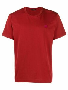 Acne Studios Nash Face T-shirt - Red