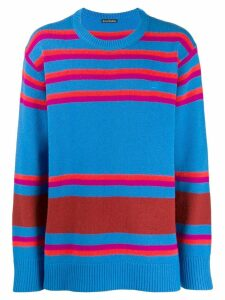 Acne Studios striped knit sweater - Orange