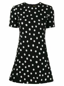 Saint Laurent polka dot mini dress - Black