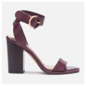 Ted Baker Women's Betciy Block Heeled Sandals - Purple