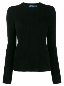 Polo Ralph Lauren cable knit jumper - Black