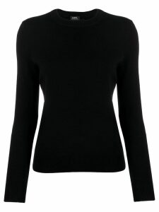A.P.C. button shoulder jumper - Black