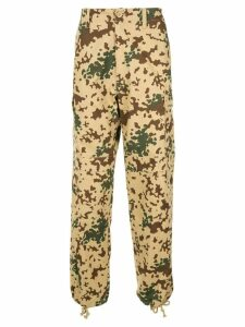 We11done military trousers - NEUTRALS