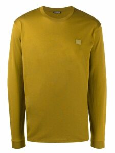 Acne Studios long sleeve crew neck T-shirt - Green