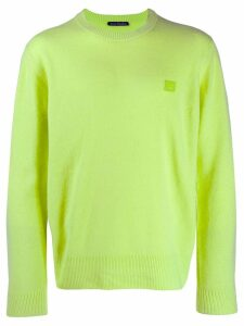 Acne Studios crew neck sweater - Green