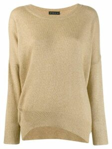 Etro lurex knit jumper - NEUTRALS