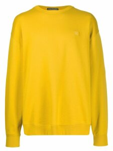 Acne Studios oversized sweatshirt - Yellow
