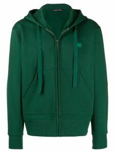 Acne Studios Ferris Zip Face hoodie - Green