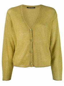 Luisa Cerano loose-fit cardigan - Green