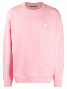 Acne Studios oversized sweatshirt - PINK