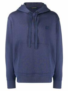 Acne Studios Ferris Face hoodie - Blue