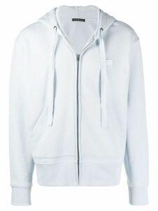 Acne Studios Ferris Zip Face hoodie - Blue