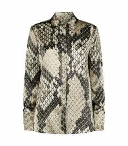 Macro Python Silk Shirt