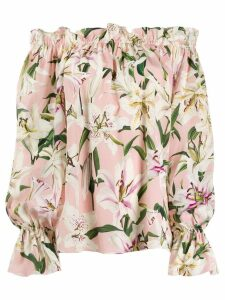 Dolce & Gabbana Lily gypsy top - PINK