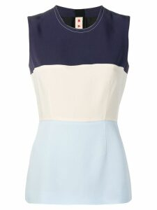 Marni vest top - Blue