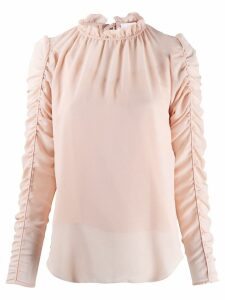 See By Chloé gathered sleeve blouse - Pink