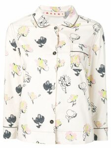 Marni printed shirt - White