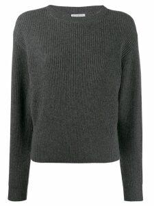 Brunello Cucinelli woven jumper - Grey