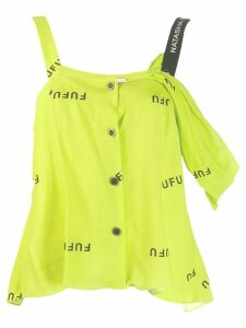 Natasha Zinko button-down top - Yellow