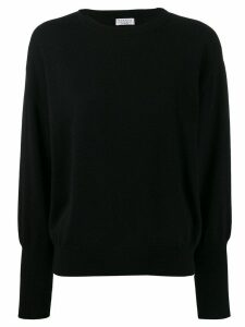 Brunello Cucinelli crew neck jumper - Black