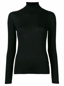 Brunello Cucinelli cashmere classic turtle neck sweater - Black