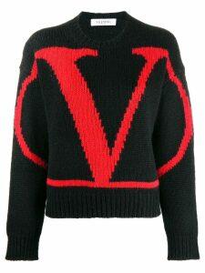Valentino VLOGO jumper - Black