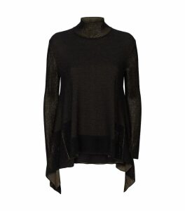 Lurex Rollneck Sweater