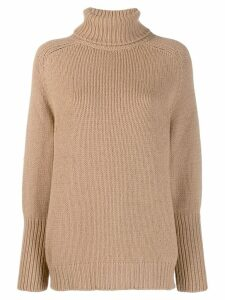 Ralph Lauren Collection roll-neck sweater - NEUTRALS