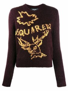 Dsquared2 knit logo jumper