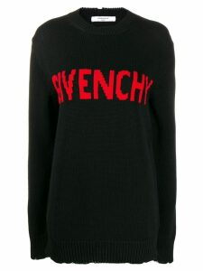 Givenchy logo sweater - Black