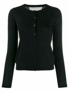 Red Valentino knitted cardigan - Black