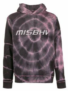 Misbhv tie-dye logo hoodie - Black