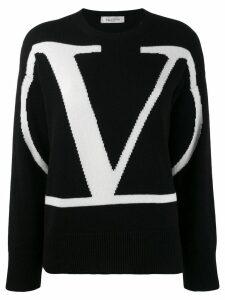 Valentino cashmere VLOGO sweater - Black