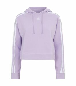 Cotton Cropped Hoodie