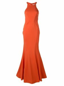 Zac Zac Posen Lisa mermaid gown - Orange