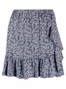 Michael Michael Kors pleated skirt - Blue