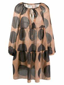 Stella McCartney polka dot shift dress - PINK