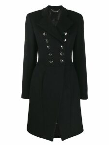 Philipp Plein double-breasted coat - Black