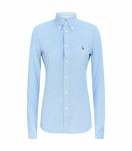 Heidi Knit Oxford Shirt